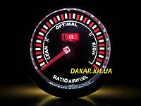Тюнинговый автомобильный прибор Ket Gauge LED 7709-2 экономайзер Air Fuel состав смеси, фото 1