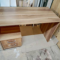 Стол письменный 120 см с ящиками на мобильной тумбочке, фото 1