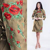Платье вышиванка из льна в Украине. Сравнить цены 4bbe2b7489b72