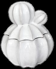 Декор, шкатулка для драгоценностей и мелочи из керамики 13*13*15 см, фото 2