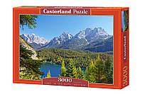 """Пазлы Castorland на 3000 элементов. """"Озеро в Альпах. Австрия"""". Быстрая доставка. Производство Польша."""