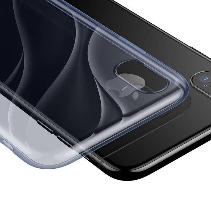 Чехол Baseus Water model iPhone X (Blue)