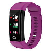 Часы с тонометром давление крови F07 фитнес браслет здоровье для iPhone Android трекер пульсометр калории сон