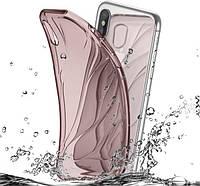 Чехол Baseus Water model iPhone X (Pink