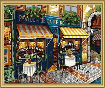 Картина за номерами Menglei MG139 Паризька вуличка 40 х 50 см 950 місто