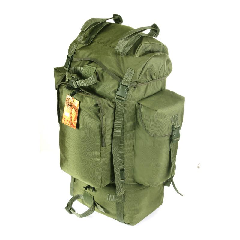 7fccebfb2279 Рюкзак туристический армейский 75 литров Водоотталкивающая ткань Кордура  500D Олива - NATURSPORT.COM.UA