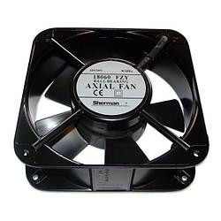 Вентилятор 180x180x60, AC 220V, 50W, 510м³/г, 2700об/хв, Axial Fan
