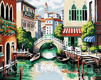 Картина за номерами Menglei MG175 Венеція 40 х 50 см 950 місто