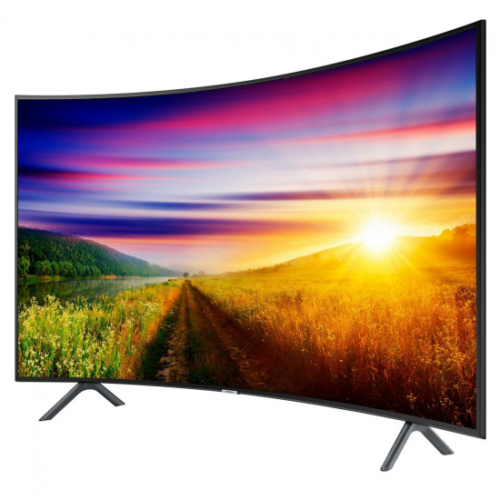 Телевизор Samsung UE55NU7302 (PQI1400Гц, 4K, Smart, UHD Engine, HLG HDR10+, D.Digital+ 20Вт, Curved, DVB-C/T2)