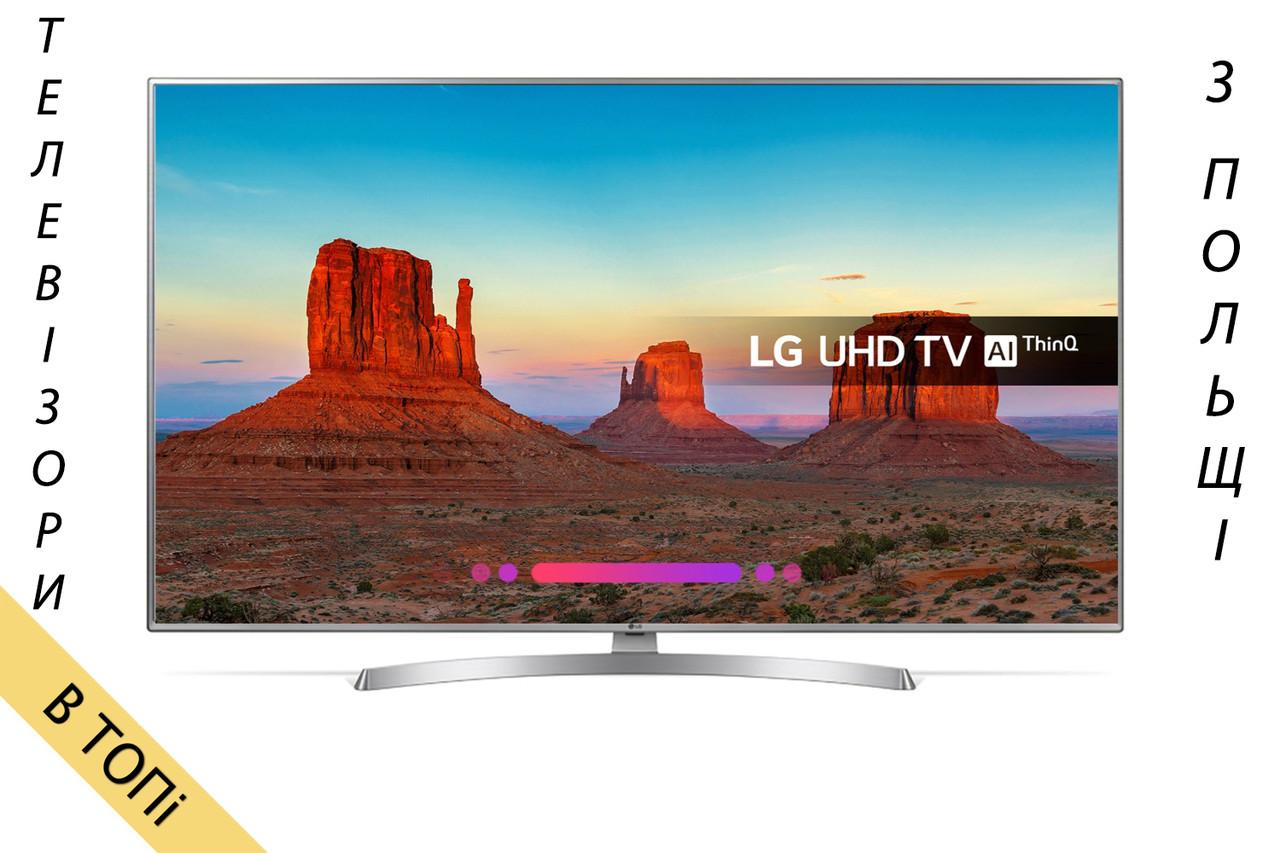 Телевизор LG_50UK6950 Smart TV 4K/UHD 1700Hz T2 S2 + пульт Magic из Польши 2018 год