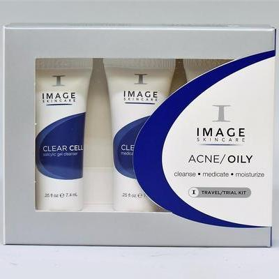 IMAGE Skincare Пробный набор Acne/Oily Trial Kit 3х7,4ml