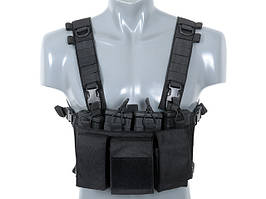 Buckle Up Chest Rig - Black [8FIELDS]