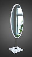 Зеркало напольное, белое Белый