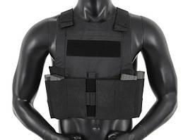 Низкопрофильный Body Armor - Black [8FIELDS] (для страйкбола)