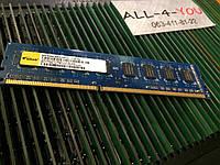 Оперативна пам`ять Elixir DDR3 4GB  PC3 10600U 1333mHz Intel/AMD