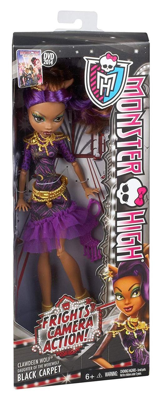 Кукла Monster High Клодин Вулф, серия Страх! Камера! Мотор! Clawdeen Wolf