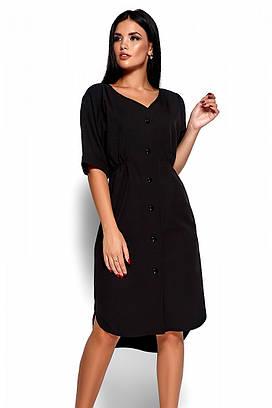 (S, M, L) Повсякденне чорне плаття Jazelin