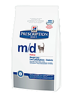 Hill's Prescription Diet™ Feline m/d™ 1.5 кг