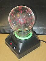 Плазменный шар светильник с молниями, фото 1
