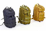 Рюкзак тактический штурмовой (олива), фото 7