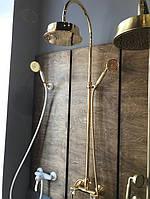 Душевые системы в ретро стиле от итальянской фабрики Bugnatese