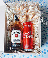 """Подарочный сувенирный набор """"Виски с колой"""""""