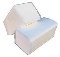 """Бумажные полотенца белые V – образного сложения для диспенсеров (100% целлюлоза) """"Green ix"""" + Видео, фото 1"""