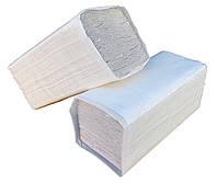 """Бумажные полотенца серые V – образного сложения для диспенсеров """"Green ix""""+ Видео"""