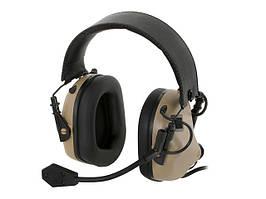 M32 Aktywne ochronniki słuch z mikrofonem - TN [EARMOR]