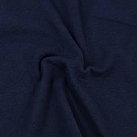 Трикотажная ткань кулир в рулонах 100% хлопок. Цвет — Темно-синий