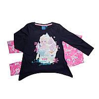Детская пижама Холодное сердце (Frozen) на девочек 5-8 лет ТМ Disney (Sun City) Синий HQ1217-dkblue