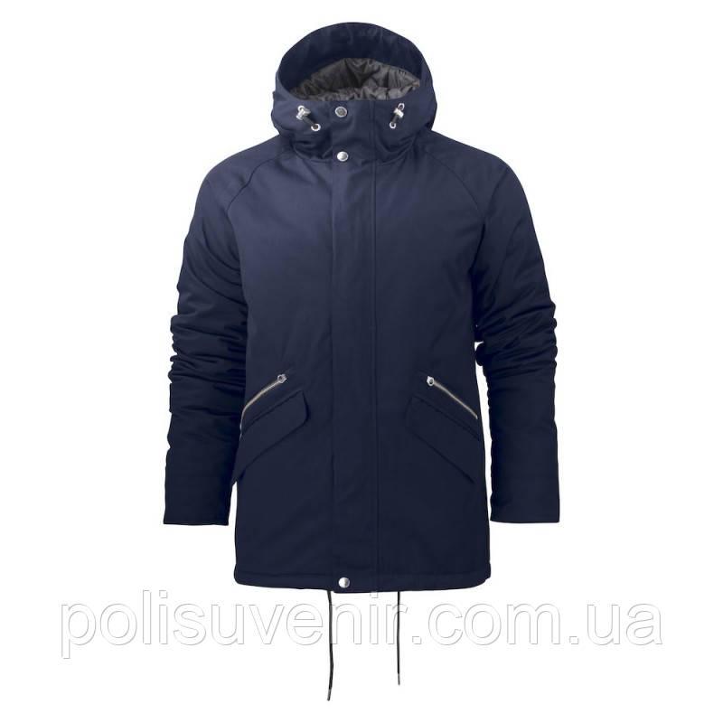 Чоловіча зимова стьобана куртка з шовкової тканини