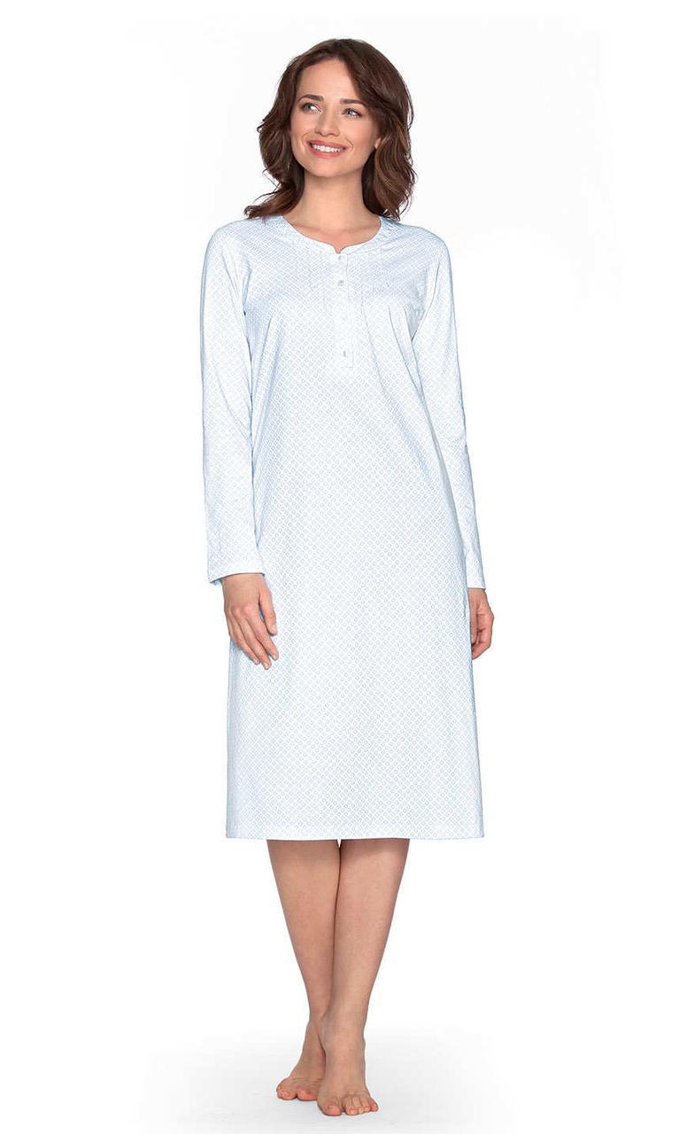 Нічна сорочка на довгий рукав Wadima 104456