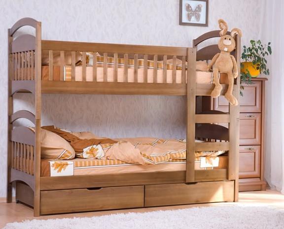 Деревянные детские, подростковые и семейные кровати