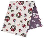 Сапожок новогодний гобеленовый,  25х37 см, Эксклюзивные подарки, Новогодний текстиль, фото 5