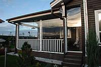 Мягкие защитные окна-прозрачные шторы ПВХ для летних беседок, террас, веранд