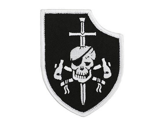 Нашивка haftowana DEVGRU Silver Team Gen1 - Black [Minotaurtac] (для страйкбола), фото 2