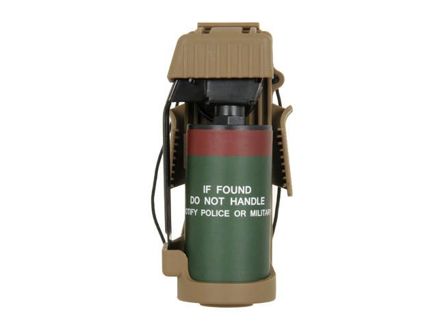 Ładownica szybkiego dostępu z atrapą granatu MK13 - Coyote Brown [TMC] (для страйкбола)
