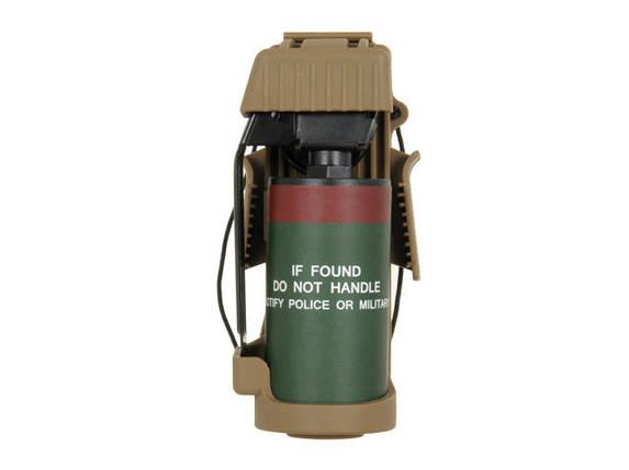 Ładownica szybkiego dostępu z atrapą granatu MK13 - Coyote Brown [TMC] (для страйкбола), фото 2