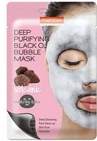Очищающая пузырящаяся маска для лица Purederm с вулканической породой