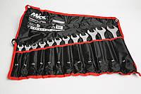 Набор ключей рожково-накидных 12шт MIOL 51-714, фото 1