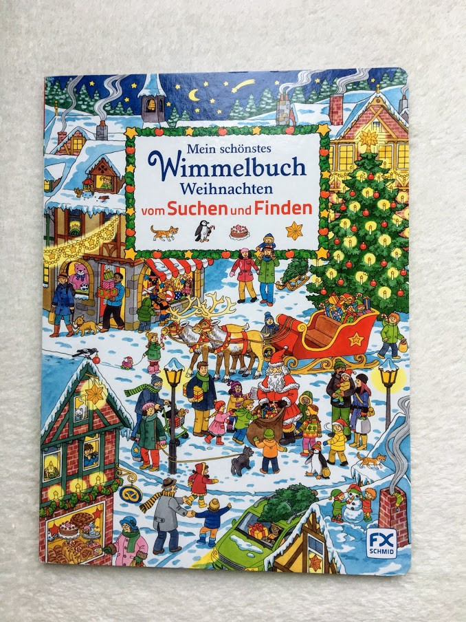 Wimmelbuch Weihnachten.Mein Schönstes Wimmelbuch Weihnachten Vom Suchen Und Finden мое лучшее рождество виммельбух продажа цена