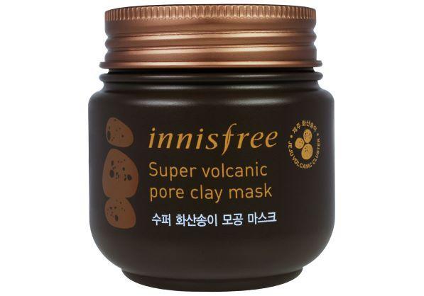 Интенсивно очищающая вулканическая маска INNISFREE Volcanic Pore Clay Mask (Super)