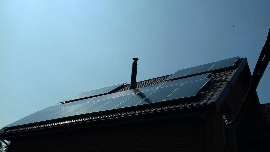 Кривой Рог, солнечная электростанция 7 кВт