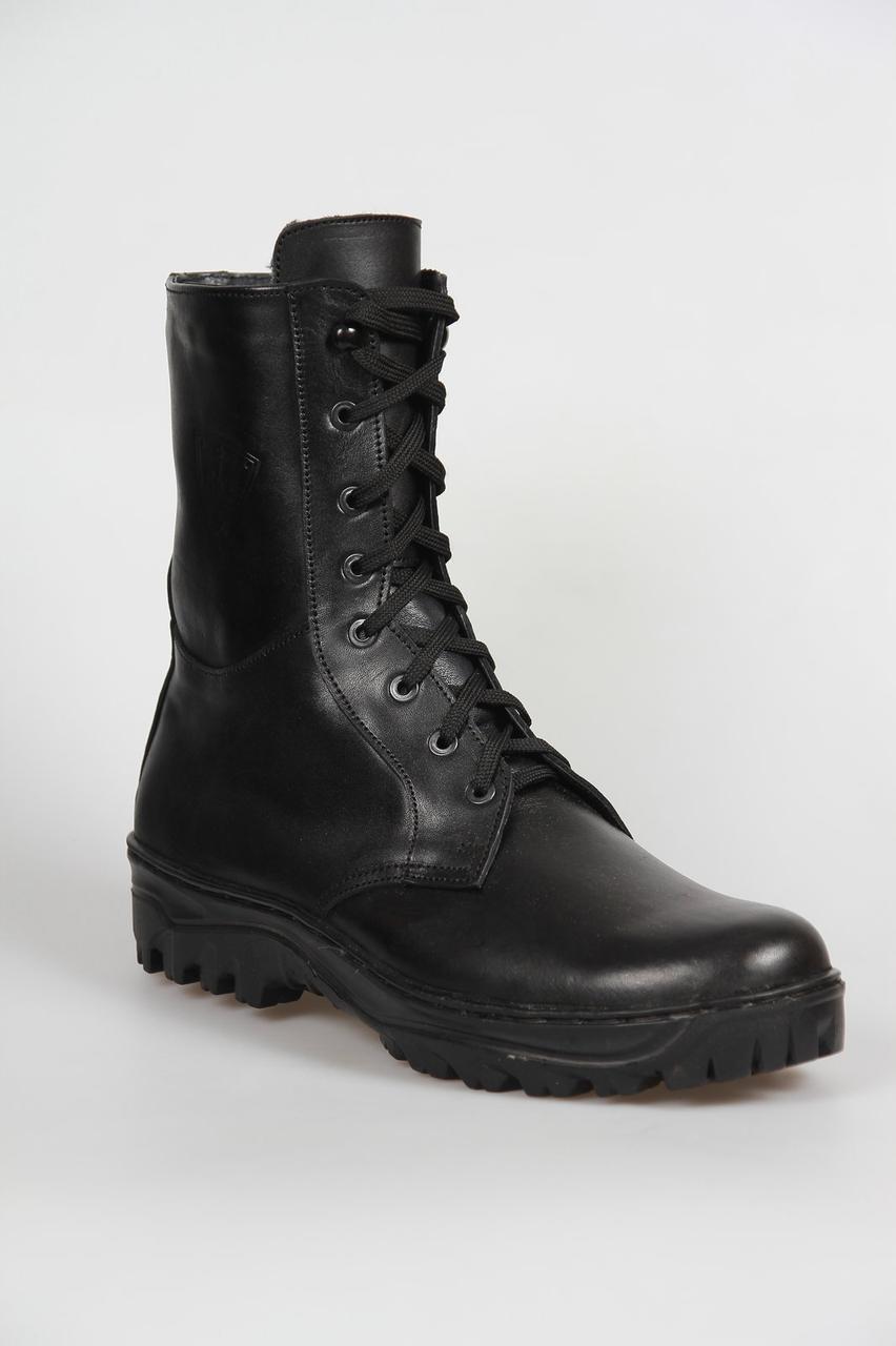 """Зимние ботинки """"Берцы"""" из натуральной кожи"""