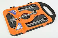 Набор ключей с трещоткой 5шт MIOL 52-250, фото 1