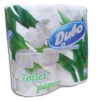 Туалетная бумага 8 рулонов Дыво Эконом Обухов 2-слойная целлюлоза белая