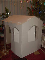 Детский картонный домик от производителя!!!