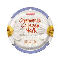 Успокаивающая коллагеновая маска Purederm Circle Mask c ромашкой