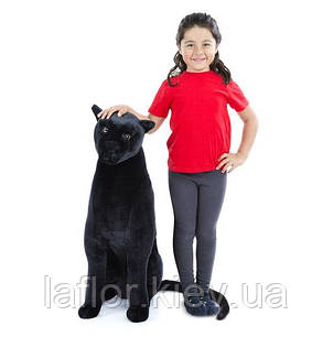 Черная плюшевая пантера Melissa&Doug, фото 2
